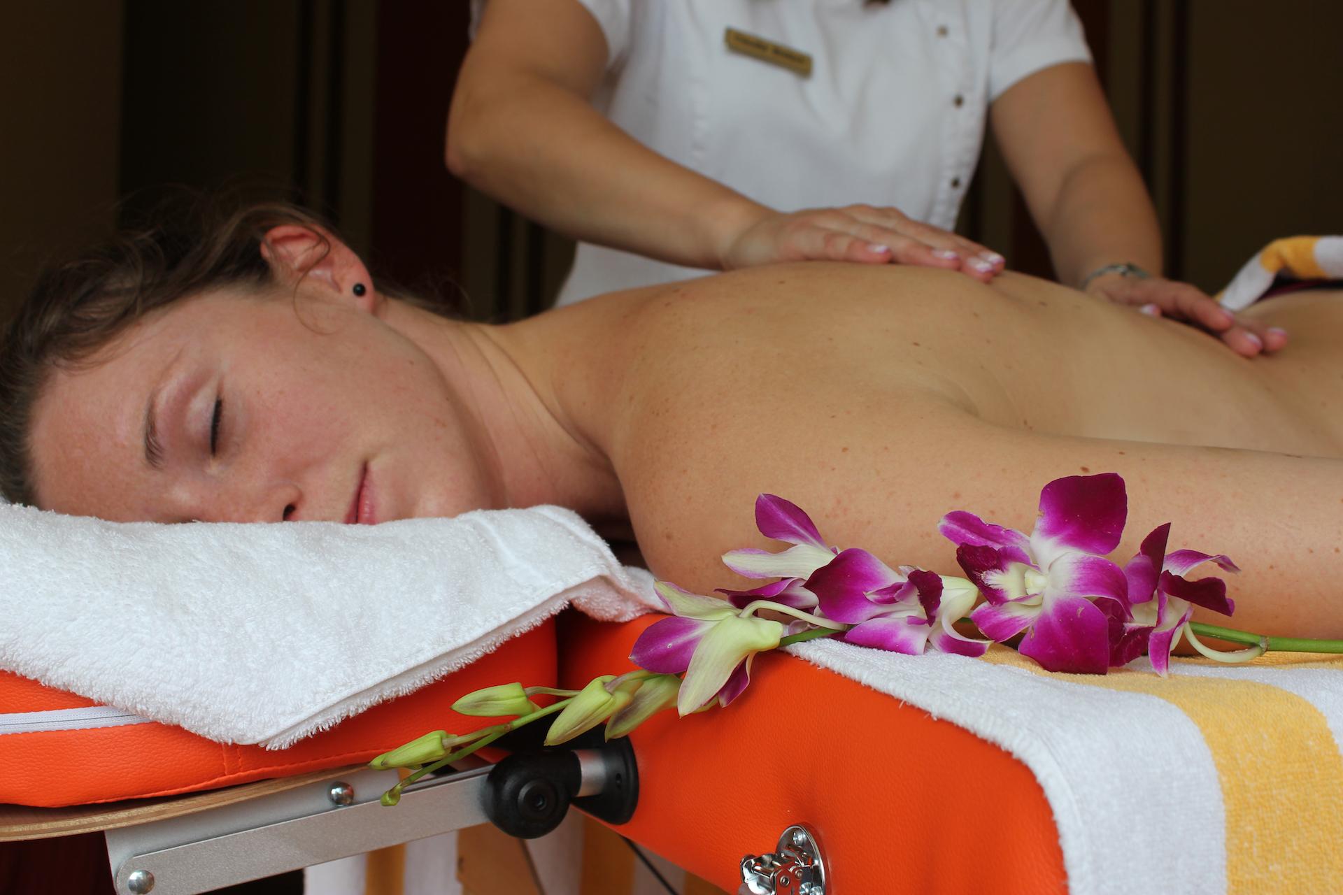 Massage lila