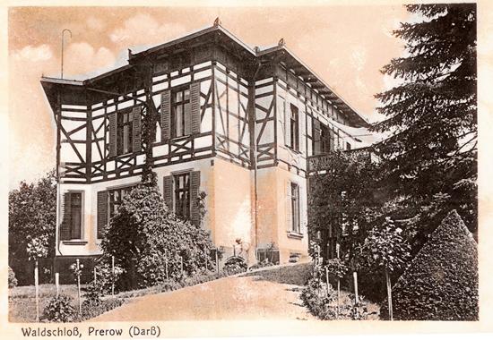 Villa Außen Ostseehotel Waldschlösschen Prerow