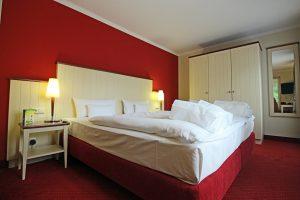Hotelzimmer Suite Bett