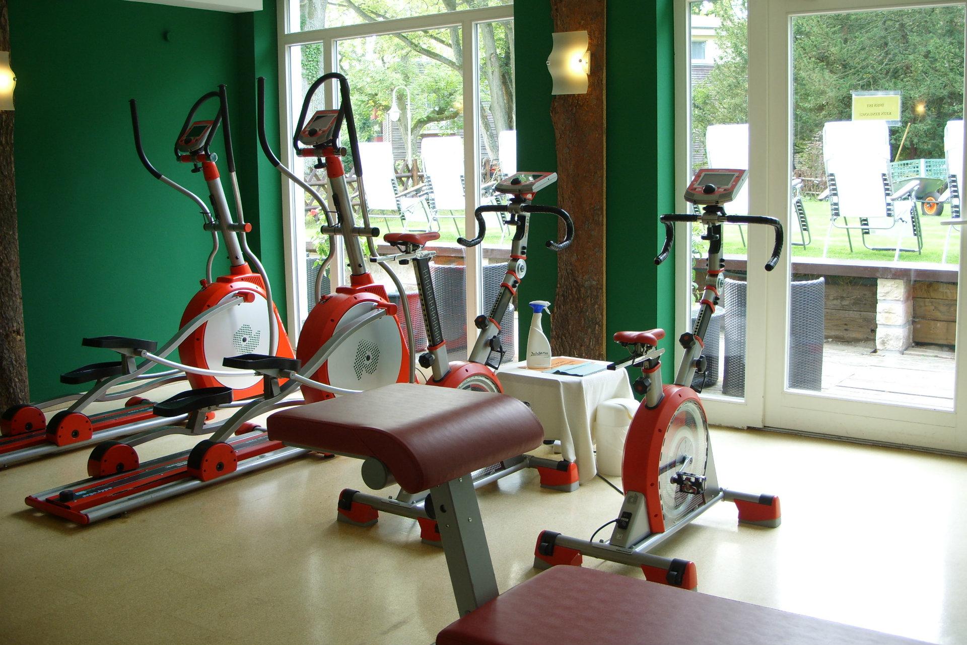 Fitnessgeräte Hotel Ostsee