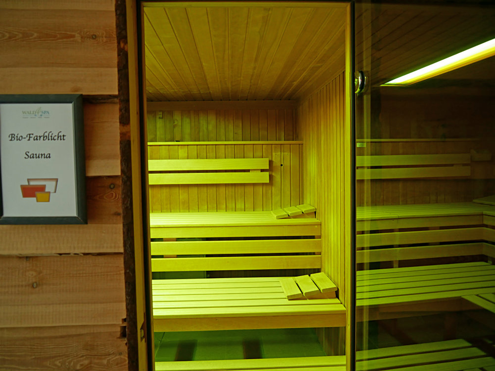 Sauna Bio Farblicht Hotel Ostsee