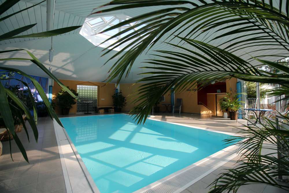 Pool Wellnessbereich Hotel Prerow