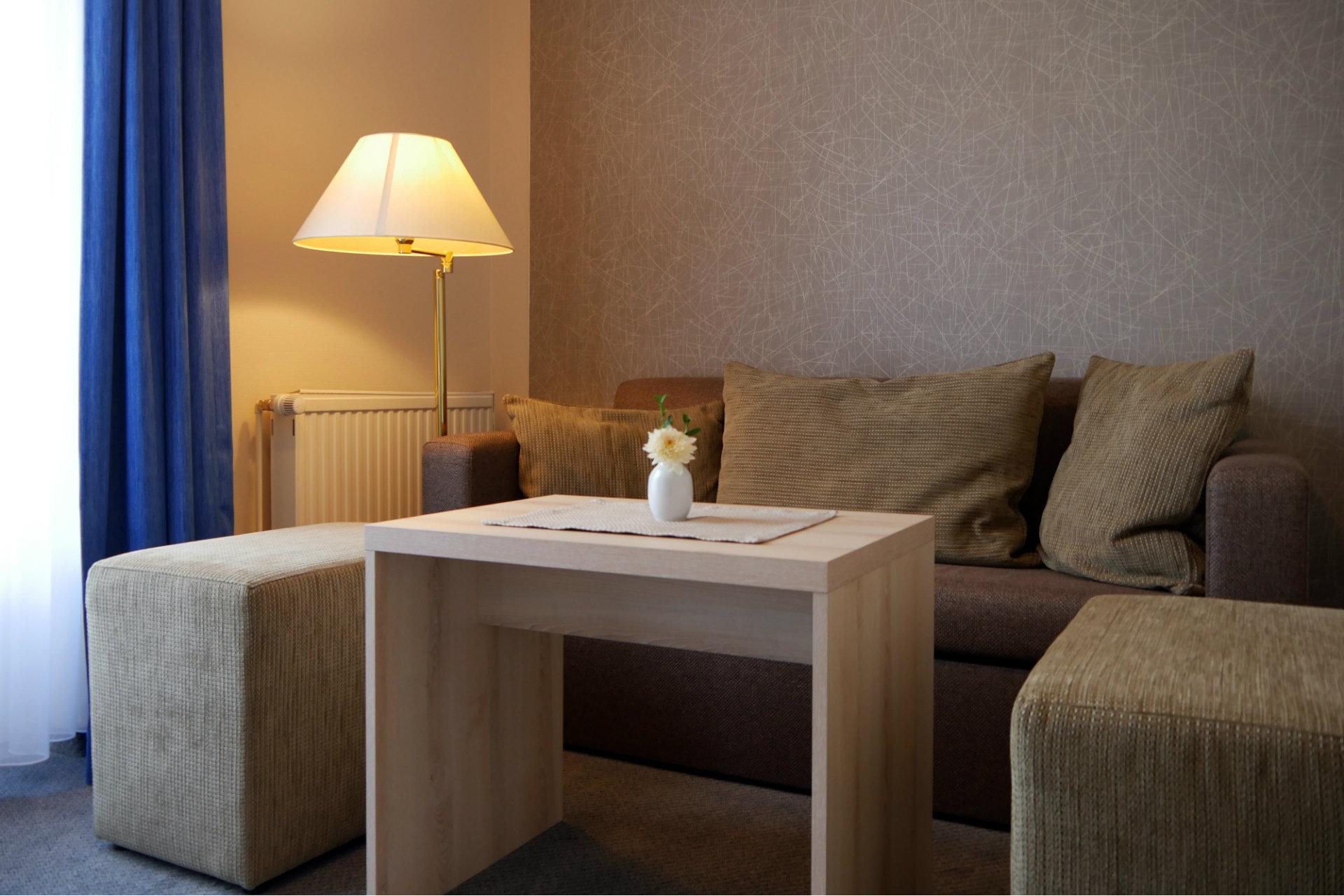 Juniorsuite Wohnbereich Hotel