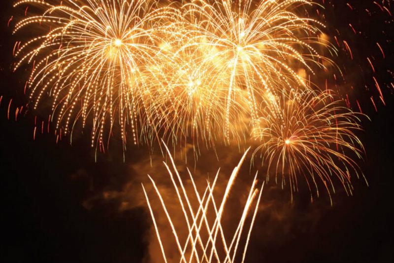 Feuerwerk Silvester Hotel Prerow