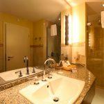 Badezimmer Hotel Suite Ostsee