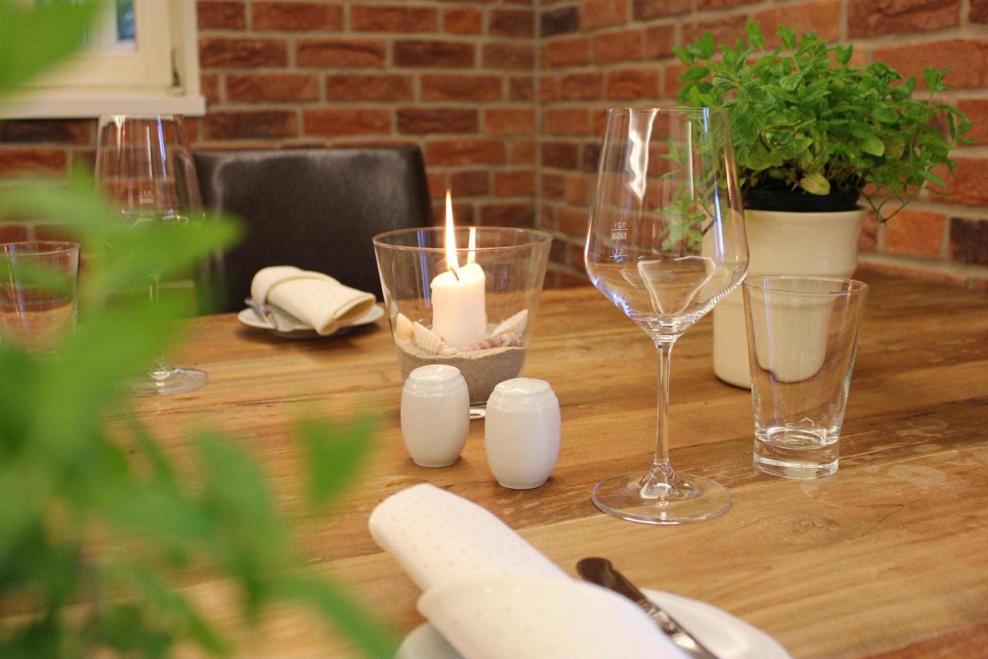 gedeckter Tisch Restaurant