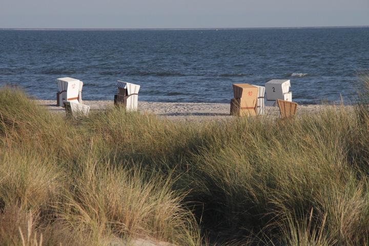 Strandkörbe Ostseehotel Waldschlösschen Prerow
