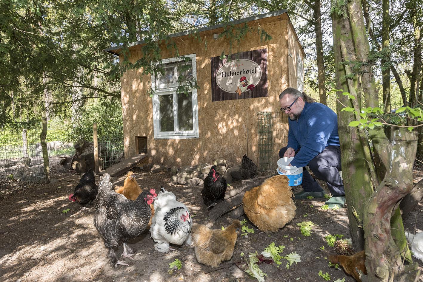hühnerhotel Waldschlösschen Prerow